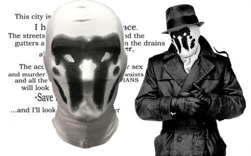 winter Keep warm Mask Watchman Rorschach Headgear Mask Cosplay Digital Print Novelty Headgear Cotton masquerade masks