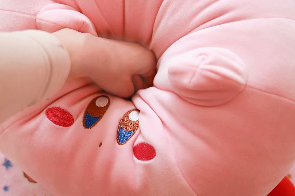 New Game Kirby Adventure Kirby Plush Toy Soft Doll Large Stuffed Animals Toys for Children Birthday Gift Home Decor