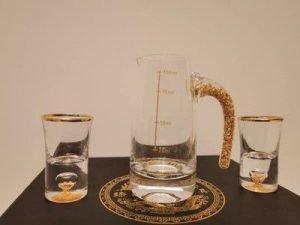 Golden Shot Glass Dispenser for Spirit photo review