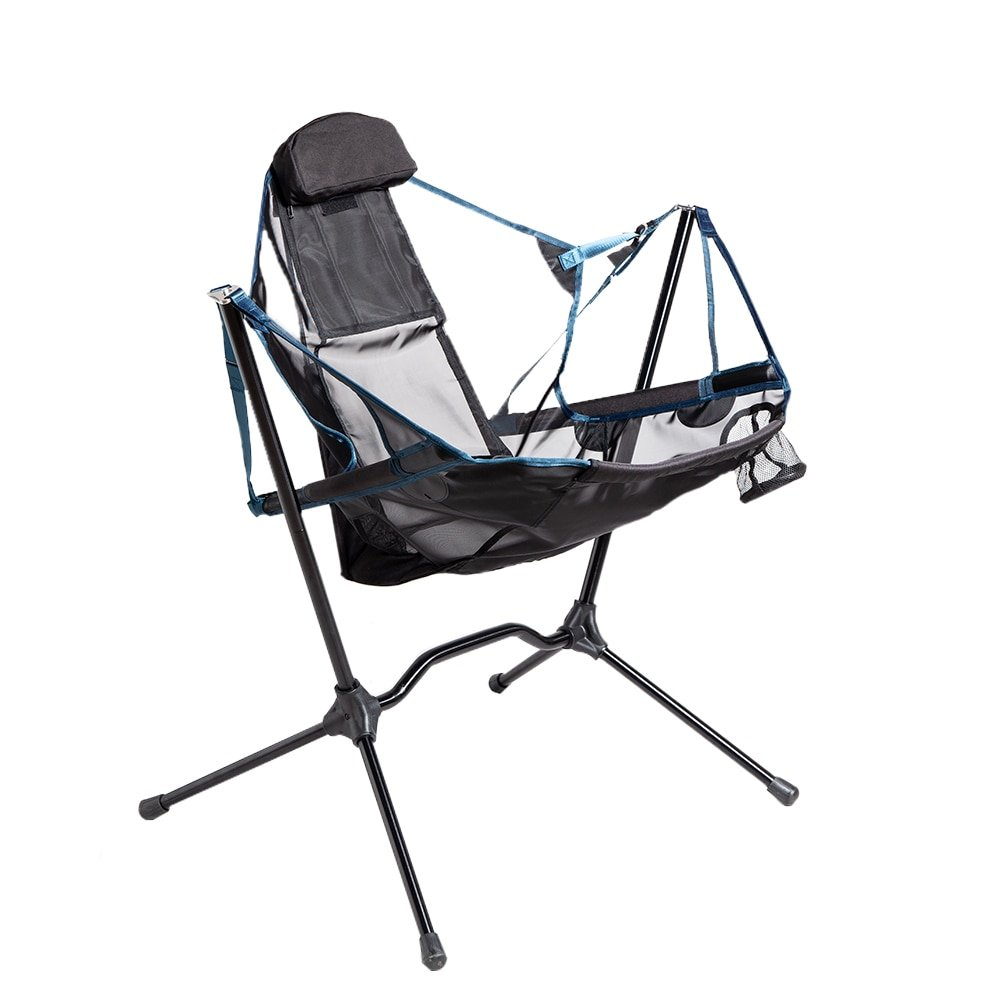 Portable Heavy Duty Outdoor Folding Camping swings chairs Aluminum Alloy luxury Camping Chair Backrest Folding